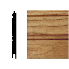 <strong>Manor House</strong> 5/16 in. x 3-1/8 in. x 8 ft. Cherry T&G Wainscot Panels (6-Pieces)