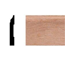 1/2 in. x 3-1/4 in. x 8 ft. Oak Colonial Base Moulding