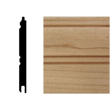 <strong>Manor House</strong> 32 in. x 3-1/8 in. x 5/16 in. Maple Tongue & Groove Wainscot (1-Piece)