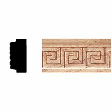 <strong>Manor House</strong> 3/8 in. x 3/4 in. x 8 ft. Oak Embossed Greek Key Moulding