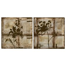 Patina Elegance Wall Plaque (Set of 2)