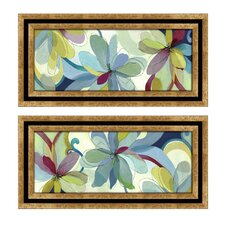 Silk Flowers Framed Art (Set of 2)