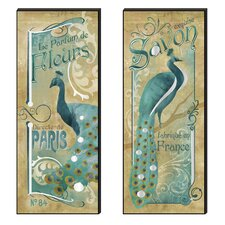 Fabrique En Frace Cutout Wall Plaque (Set of 2)