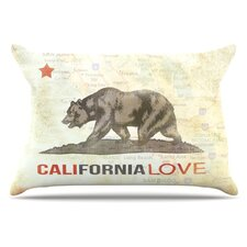 Cali Love Microfiber Fleece Pillow Case