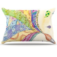 <strong>KESS InHouse</strong> The Painted Quilt Microfiber Fleece Pillow Case