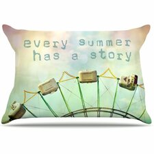 Every Summer Has a Story Fleece Pillow Case