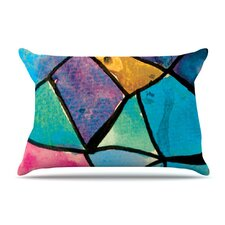 <strong>KESS InHouse</strong> Stain Glass 2 Fleece Pillow Case