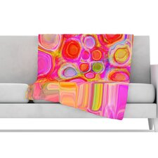 Spring Fleece Throw Blanket