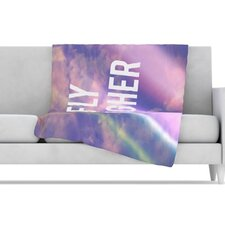 Fly Higher Fleece Throw Blanket