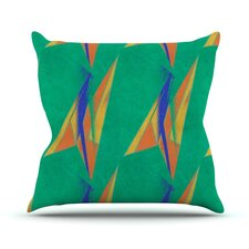 Deco Art by Alison Coxon Throw Pillow
