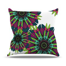 Bright by Alison Coxon Throw Pillow