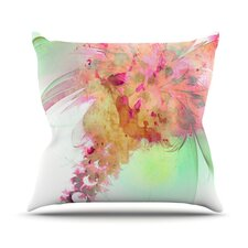 Lily by Alison Coxon Throw Pillow