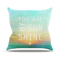 You Are My Sunshine by Alison Coxon Throw Pillow