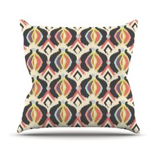Bohemian iKat by Amanda Lane Throw Pillow
