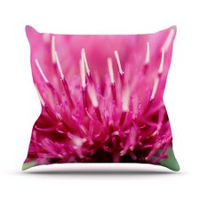 Frosted Tips by Beth Engel Throw Pillow
