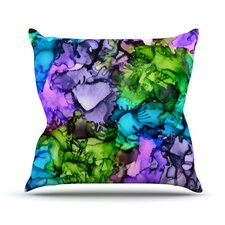 Cellar Door by Claire Day Throw Pillow