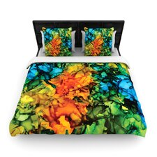"""Lowry"" Woven Comforter Duvet Cover"
