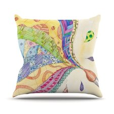 The Painted Quilt by Catherine Holcombe Throw Pillow
