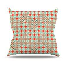 Traveling Caravan by Catherine McDonald Pattern Throw Pillow