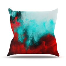 Painted Clouds III by Caleb Troy Throw Pillow
