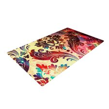 Galaxy Tapestry Red Area Rug