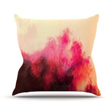 Painted Clouds II by Caleb Troy Throw Pillow