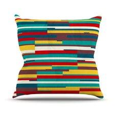 Blowmind Outdoor Throw Pillow