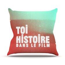 Toi Histoire Throw Pillow