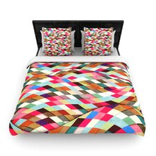 """Adored"" Art Object Woven Comforter Duvet Cover"