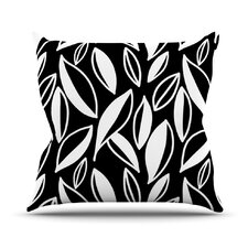Leaving by Emine Ortega Throw Pillow