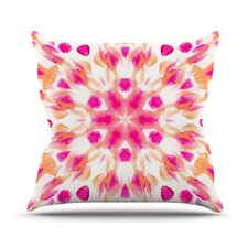 Batik Mandala Throw Pillow