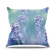 Lavender Dream by Iris Lehnhardt Flower Throw Pillow