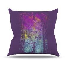 Rain by Frederic Levy-Hadida Throw Pillow