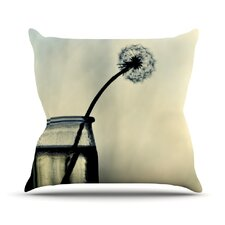 Make A Wish by Ingrid Beddoes Throw Pillow
