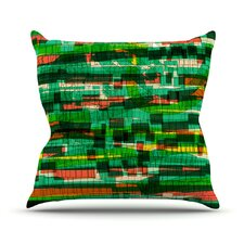 Squares Traffic by Frederic Levy-Hadida Throw Pillow