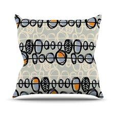 Benin by Gill Eggleston Throw Pillow