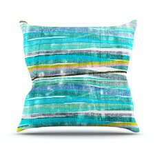 Fancy Stripes by Frederic Levy-Hadida Throw Pillow