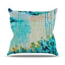 Poseidons Wrath by Ebi Emporium Throw Pillow