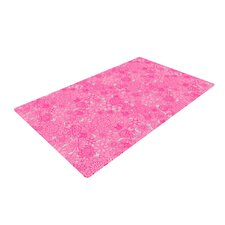 Welcome Birds To My Pink Garden Novelty Rug