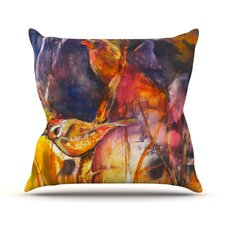 In Depth Throw Pillow