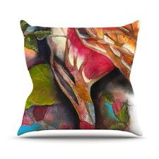 Glimpse Throw Pillow