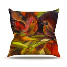 Mirrored in Nature Throw Pillow