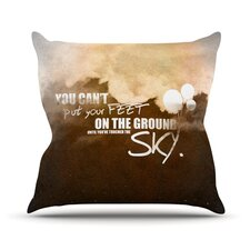 Touch the Sky Outdoor Throw Pillow