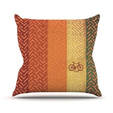 Lost Outdoor Throw Pillow