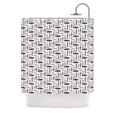 Pods Polyester Shower Curtain
