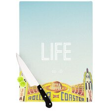 Life Is A Rollercoaster Cutting Board