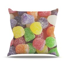 I Want Gum Drops Throw Pillow