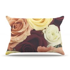 Vintage Roses Pillow Case