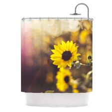 Magic Light Polyester Shower Curtain