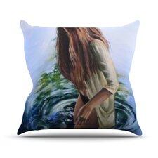 Knee Deep Throw Pillow